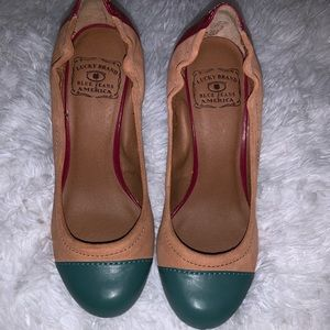 PRACTICALLY NEW LUCKY BRAND WEDGES